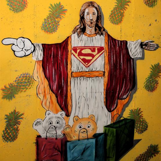 kitsch jesus